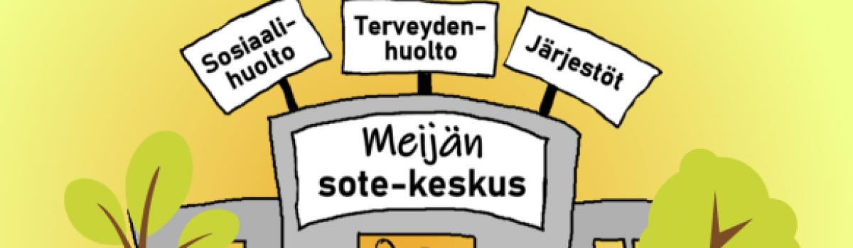 Keski-Suomeen Meijän sote-keskus