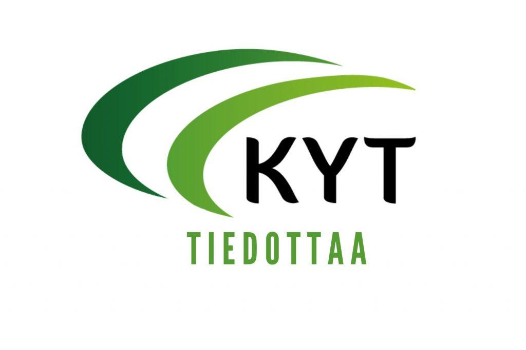 KYT tiedottaa -logo