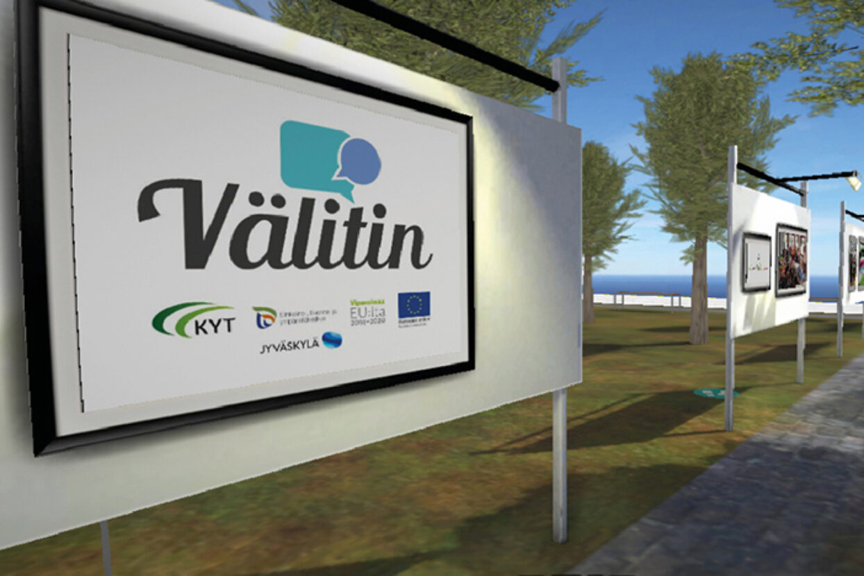 Välitin-hankekokonaisuuden virtuaalinäyttely