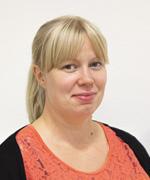Valokuva henkilöstä Krista Karhunen.
