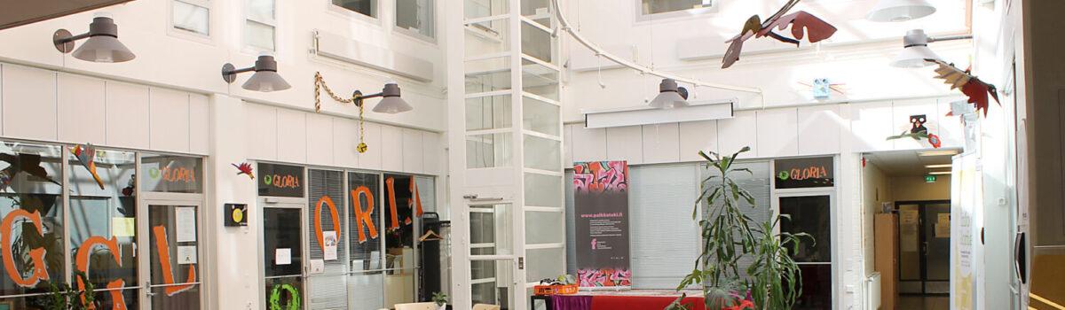 Tiedote: Mataran aulan kohtaamispaikka tilapäisesti kiinni