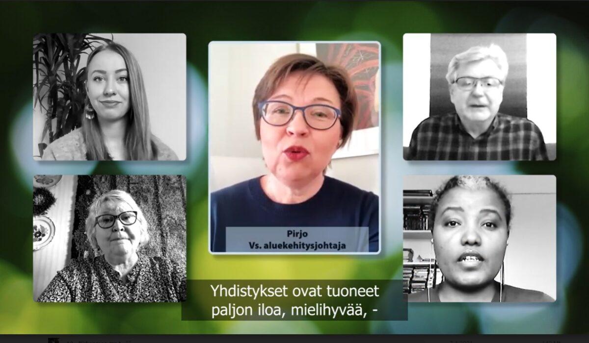 Keskisuomalaisen järjestötyön merkitystä tehdään näkyväksi videolla