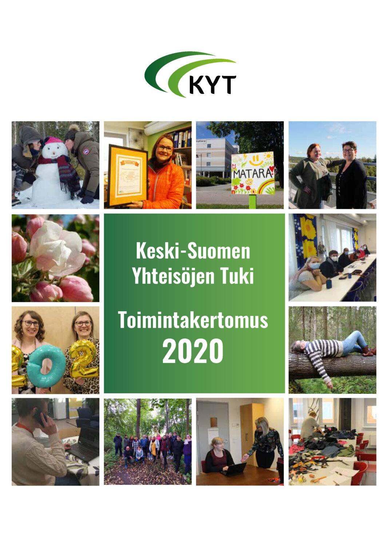 Kyt toimintakertomus 2020 kansi