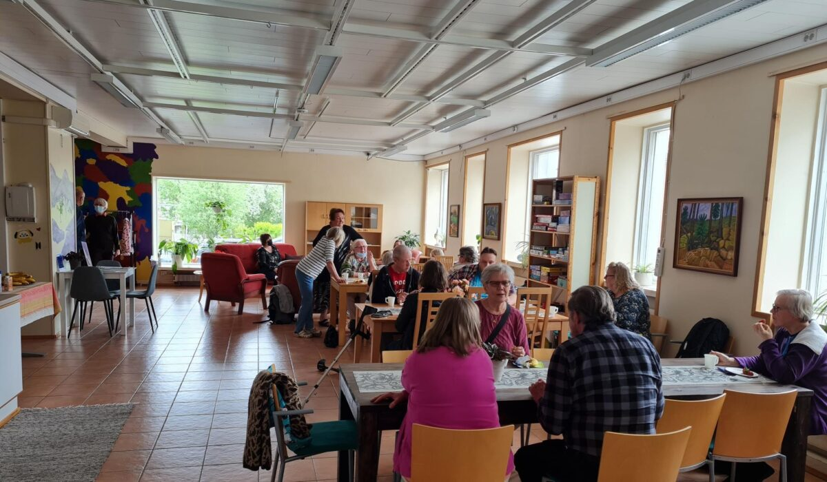 Keväistä karkelointia kulttuurin maustein Jämsässä