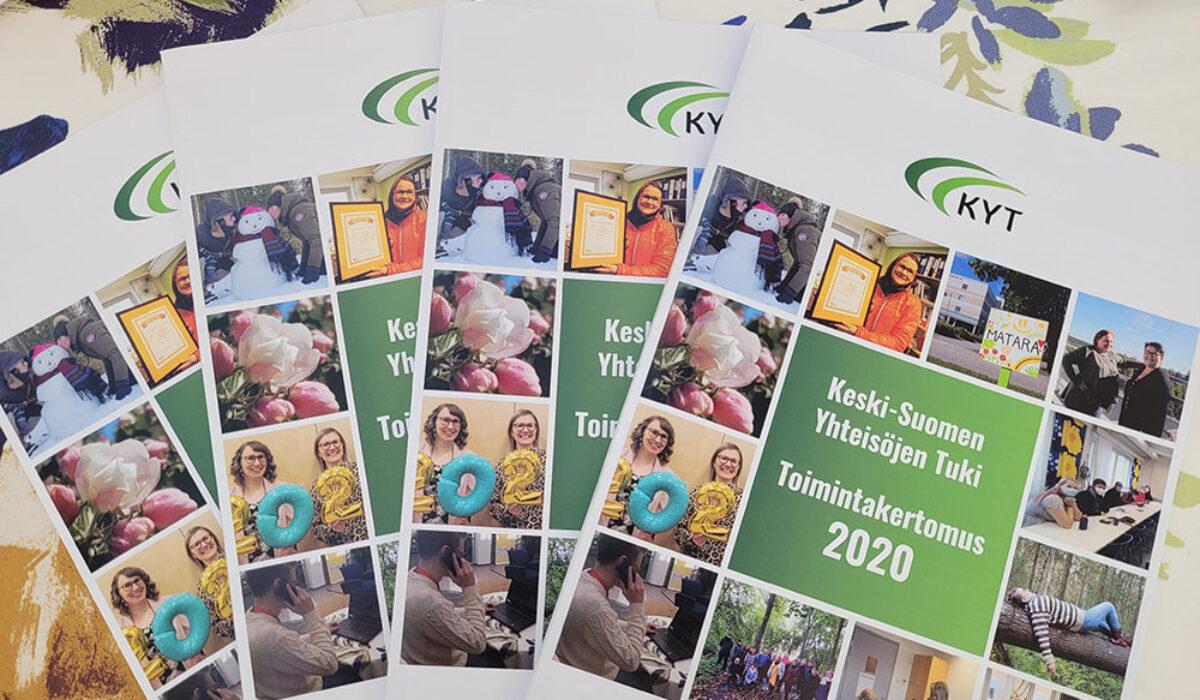 Vuoden 2020 toimintakertomus on julkaistu