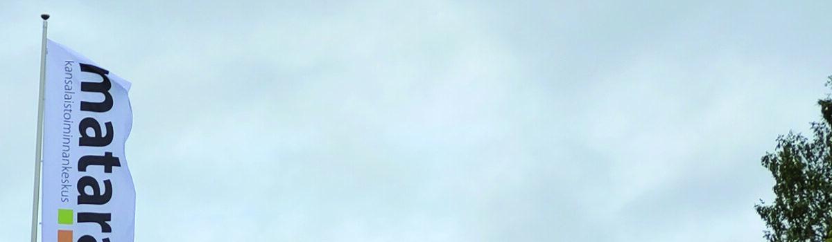 Mataran salossa liehuu lippu – kiitos kevään pienkeräykseen osallistuneille!