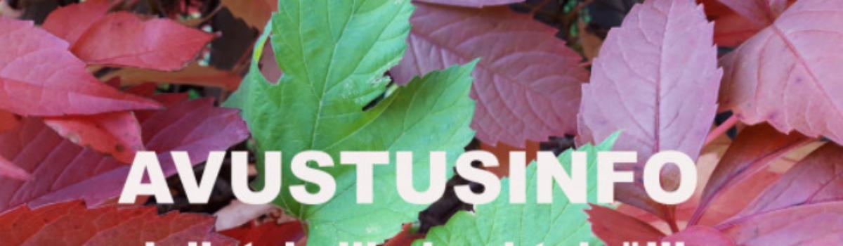 KYT mukana Jyväskylän avustusinfossa yhdistyksille ja yhteisöille 28.9.21